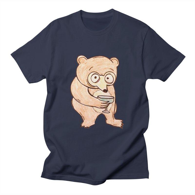 Sad Bear Margarita Women's Unisex T-Shirt by The Gummy Arts Shop