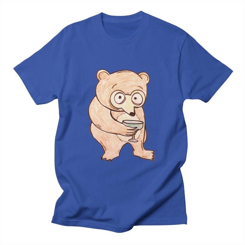 Sad Bear Margarita Women's Regular Unisex T-Shirt by The Gummy Arts Shop