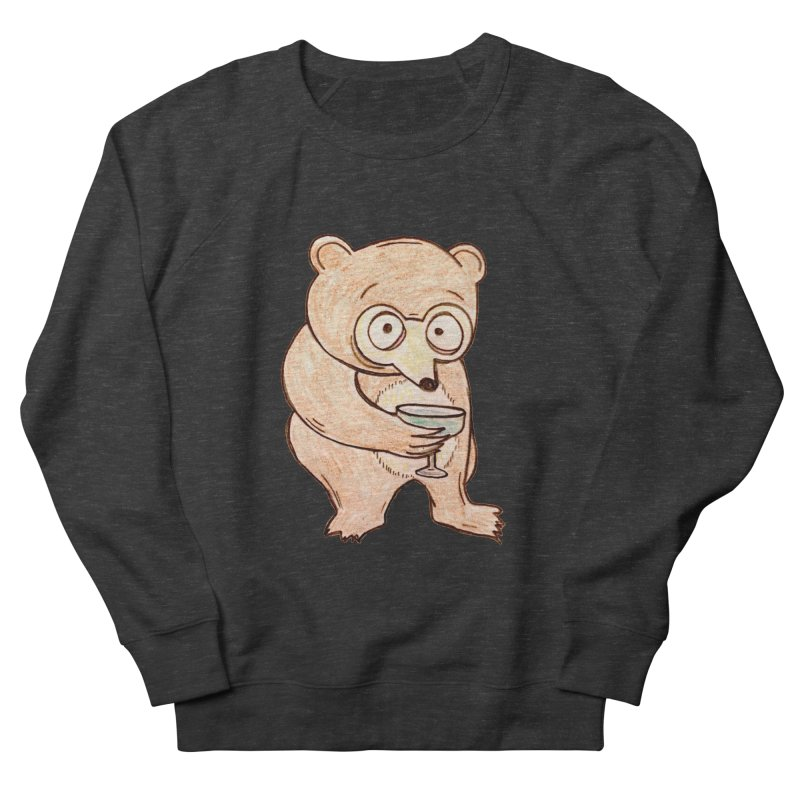 Sad Bear Margarita Women's Sweatshirt by The Gummy Arts Shop