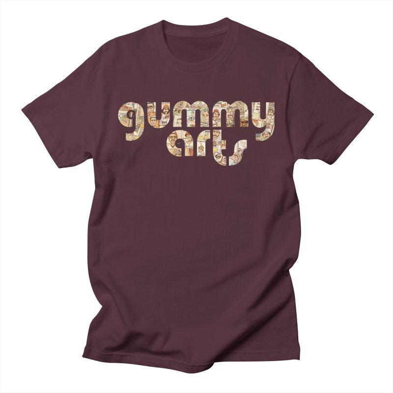 Gummy Arts Men's T-Shirt by The Gummy Arts Shop