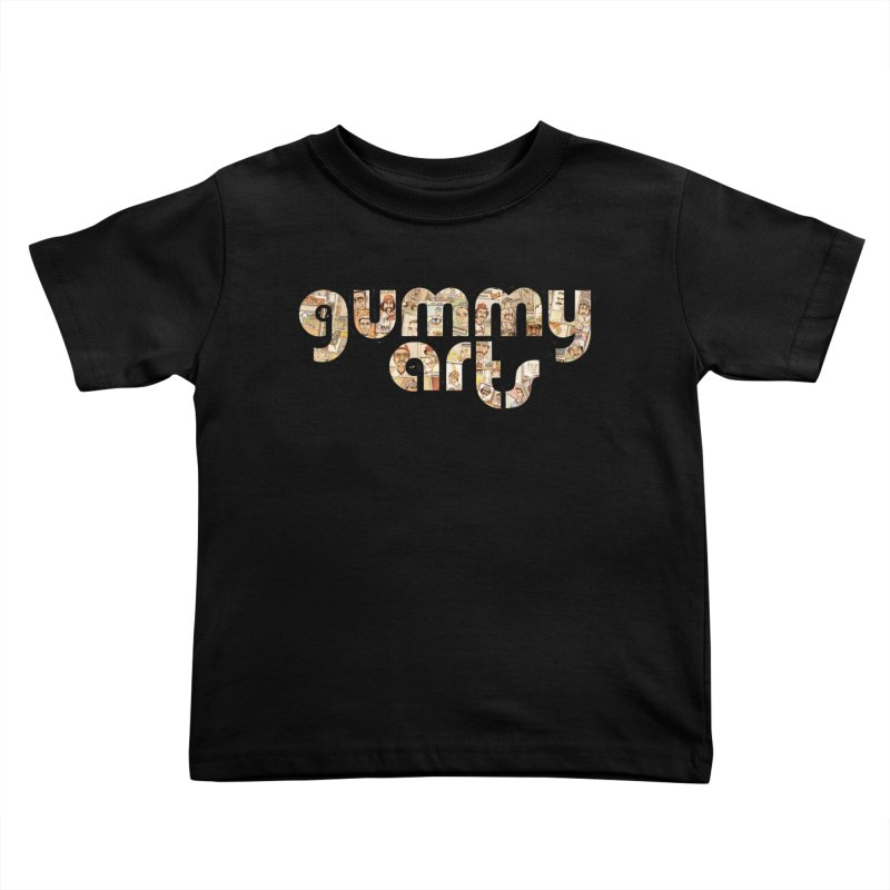 Gummy Arts Kids Toddler T-Shirt by The Gummy Arts Shop