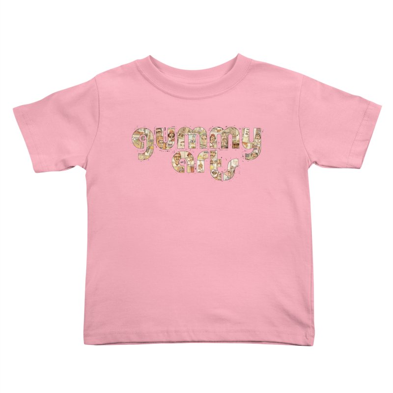 Gummy Arts Kids Toddler T-Shirt by The Gummy Arts Shop