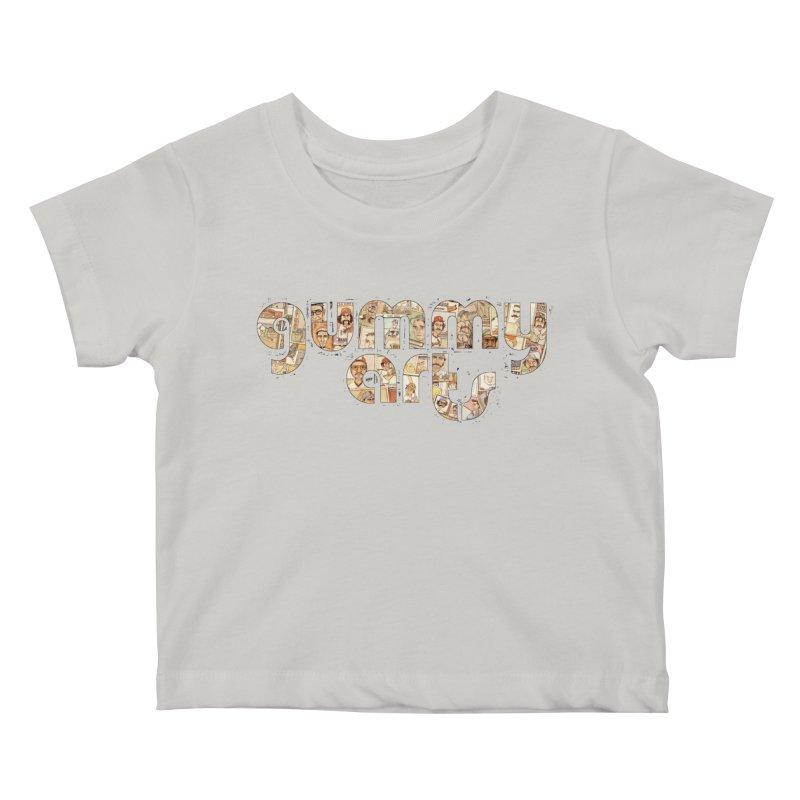 Gummy Arts Kids Baby T-Shirt by The Gummy Arts Shop