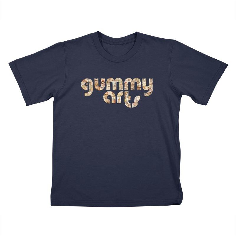Gummy Arts Kids T-Shirt by The Gummy Arts Shop