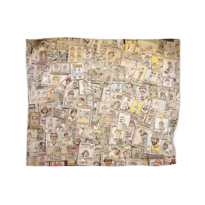 Card Collage 2 Home Fleece Blanket Blanket by The Gummy Arts Shop