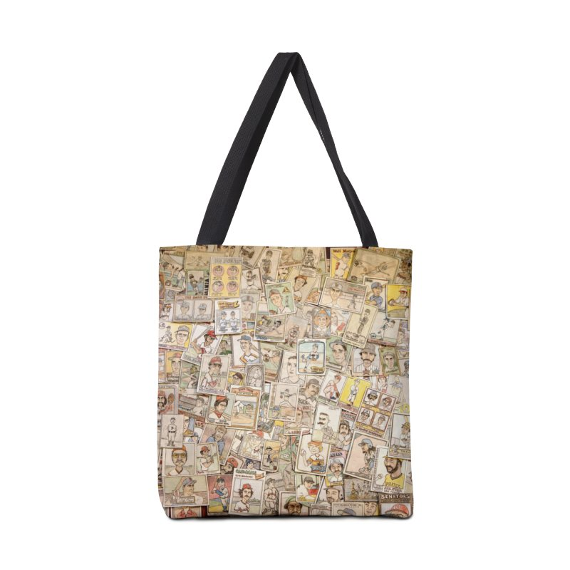 Card Collage 2 Accessories Tote Bag Bag by The Gummy Arts Shop
