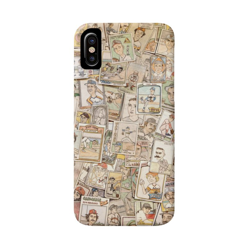 Card Collage 2 Accessories Phone Case by The Gummy Arts Shop