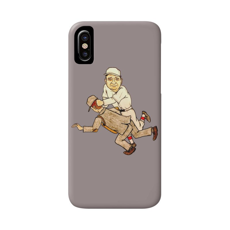 Babe Ruth vs Brick Owens, 1917 Accessories Phone Case by The Gummy Arts Shop