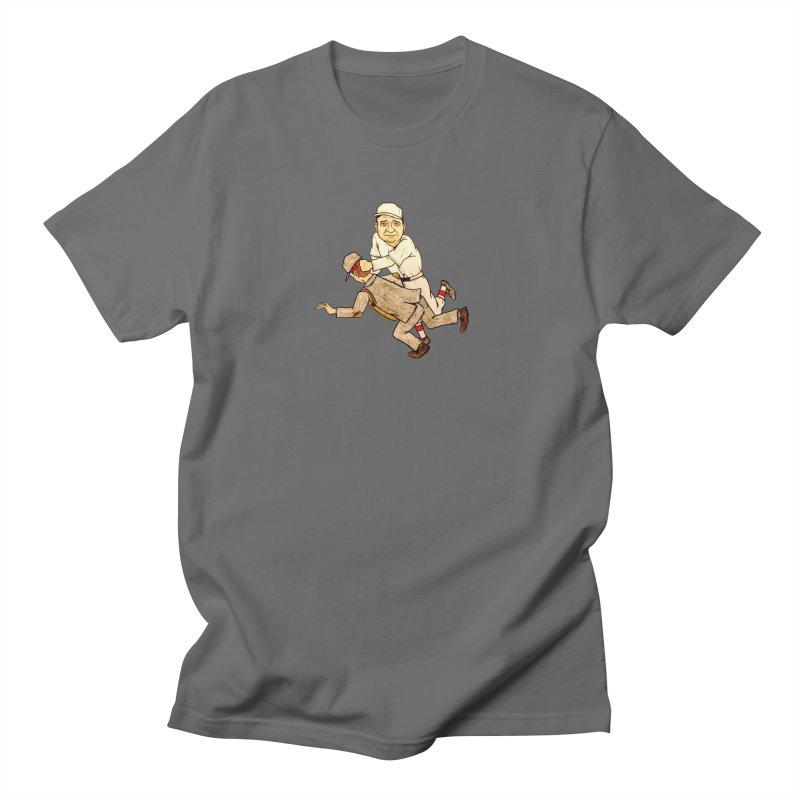 Babe Ruth vs Brick Owens, 1917 Men's T-Shirt by The Gummy Arts Shop