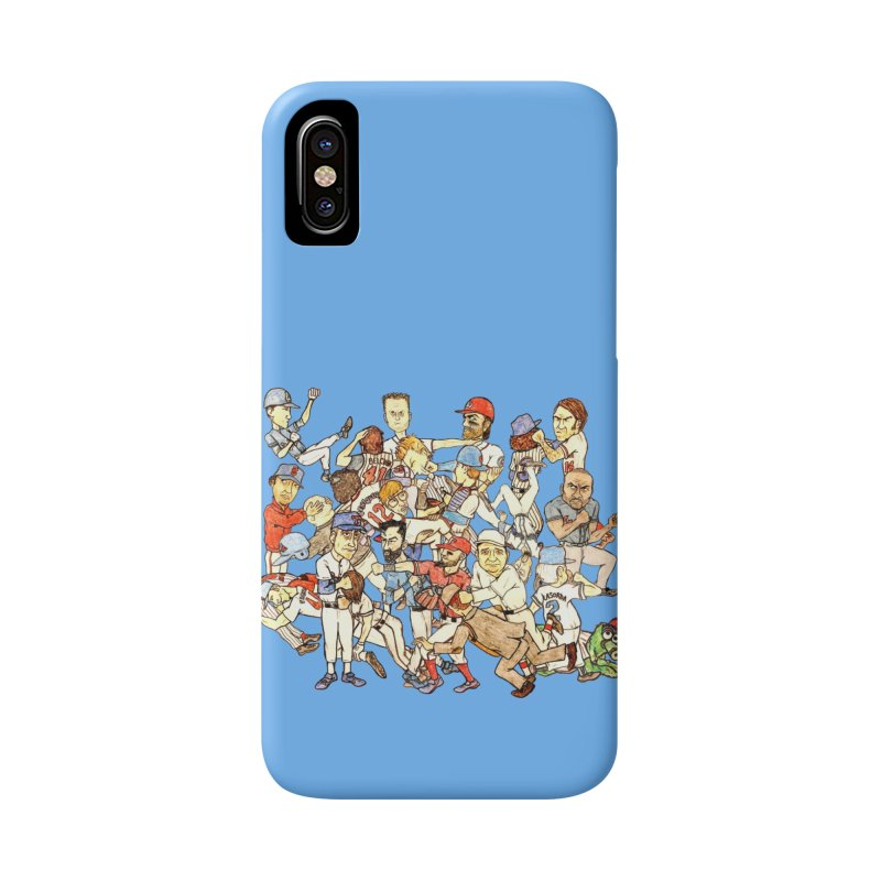 Greatest Baseball Fights Accessories Phone Case by The Gummy Arts Shop
