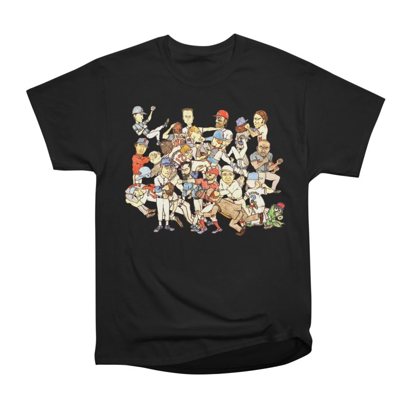 Greatest Baseball Fights Men's Heavyweight T-Shirt by The Gummy Arts Shop