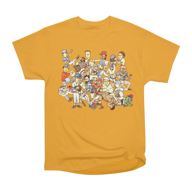 Greatest Baseball Fights Men's Heavyweight T-Shirt by The Gummy Arts Shop