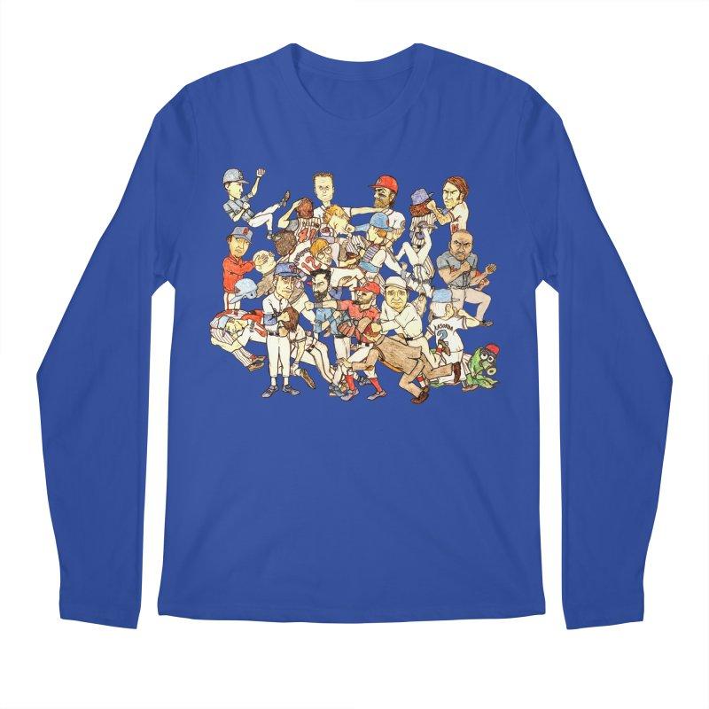 Greatest Baseball Fights Men's Regular Longsleeve T-Shirt by The Gummy Arts Shop