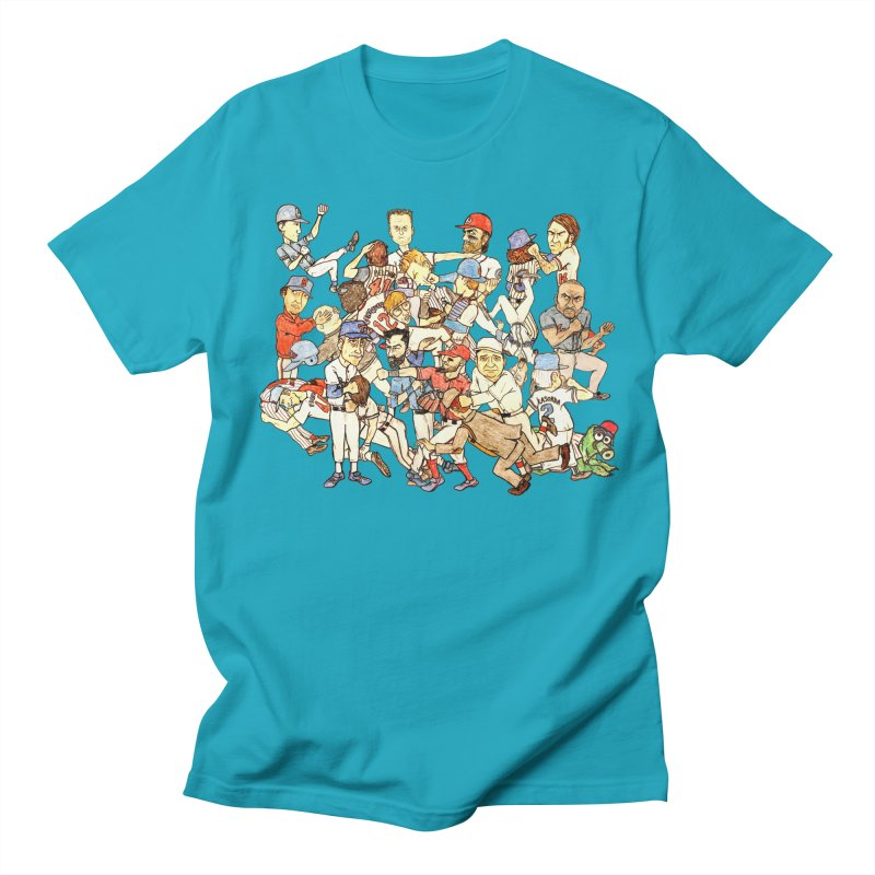 Greatest Baseball Fights Men's T-Shirt by The Gummy Arts Shop