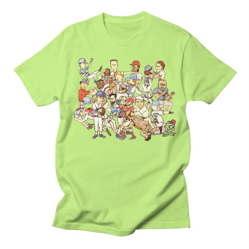 Greatest Baseball Fights Men's Regular T-Shirt by The Gummy Arts Shop