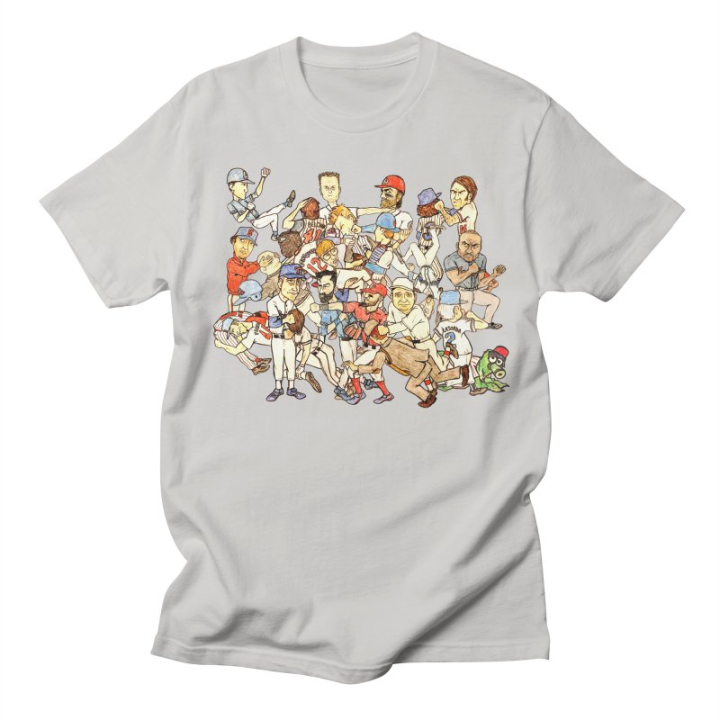 Greatest Baseball Fights Women's Unisex T-Shirt by The Gummy Arts Shop