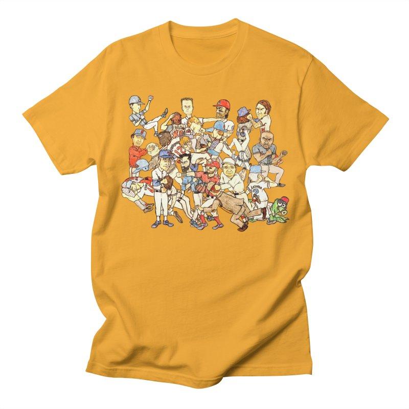 Greatest Baseball Fights Women's Regular Unisex T-Shirt by The Gummy Arts Shop