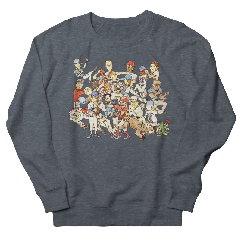 Greatest Baseball Fights Women's Sweatshirt by The Gummy Arts Shop