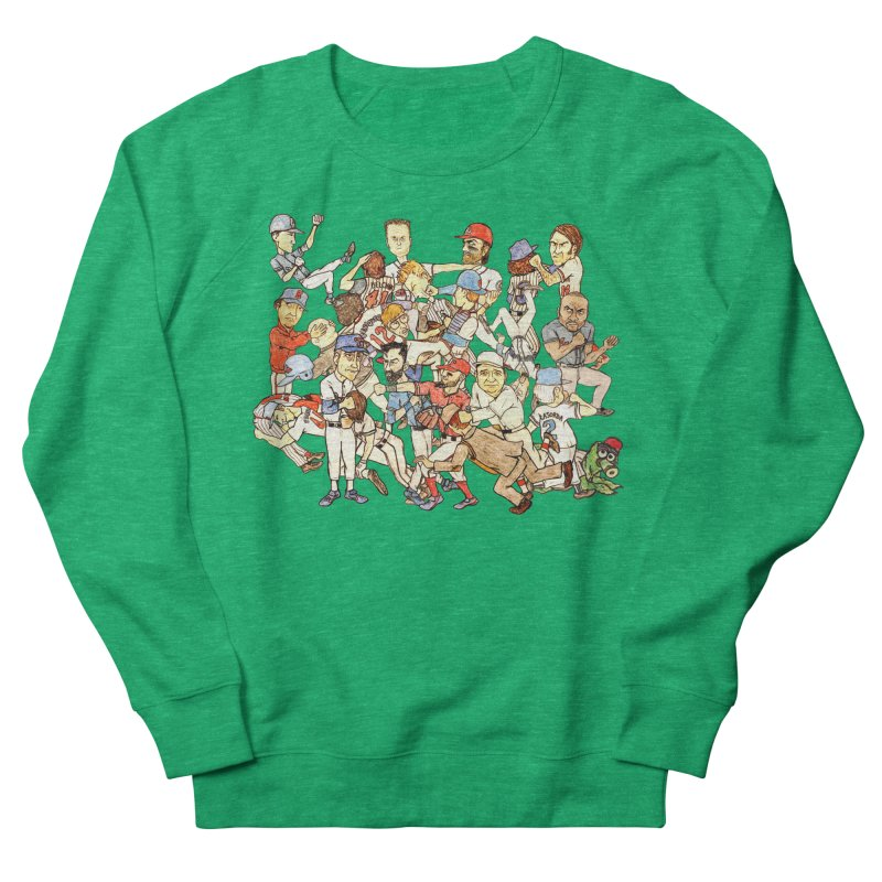 Greatest Baseball Fights Men's French Terry Sweatshirt by The Gummy Arts Shop