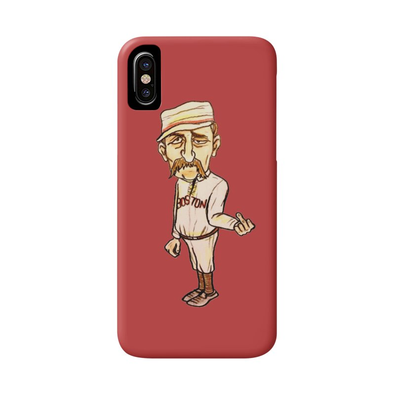 Old Hoss Radbourn Accessories Phone Case by The Gummy Arts Shop