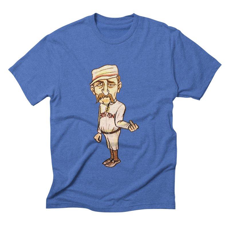 Old Hoss Radbourn Men's Triblend T-Shirt by The Gummy Arts Shop