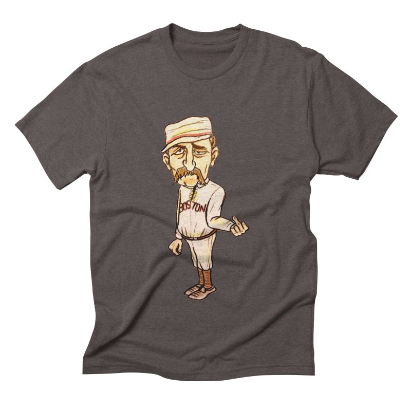 Old Hoss Radbourn Men's Triblend T-Shirt by The Gummy Arts Shop