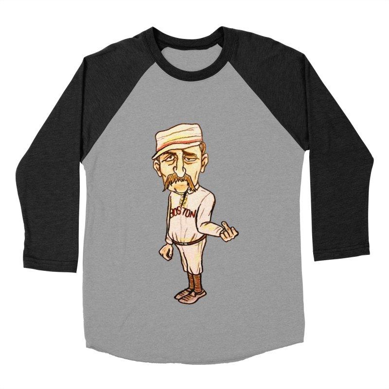Old Hoss Radbourn Men's Baseball Triblend T-Shirt by The Gummy Arts Shop