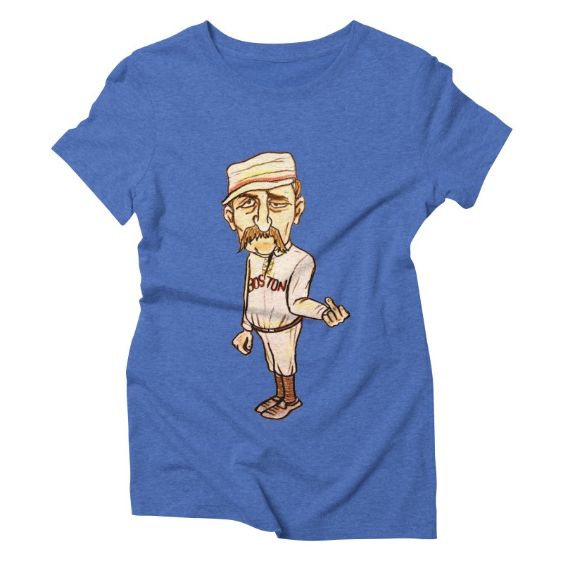 Old Hoss Radbourn Women's Triblend T-Shirt by The Gummy Arts Shop