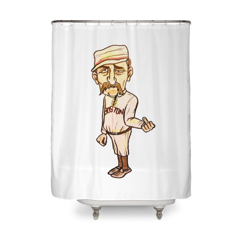 Old Hoss Radbourn Home Shower Curtain by The Gummy Arts Shop