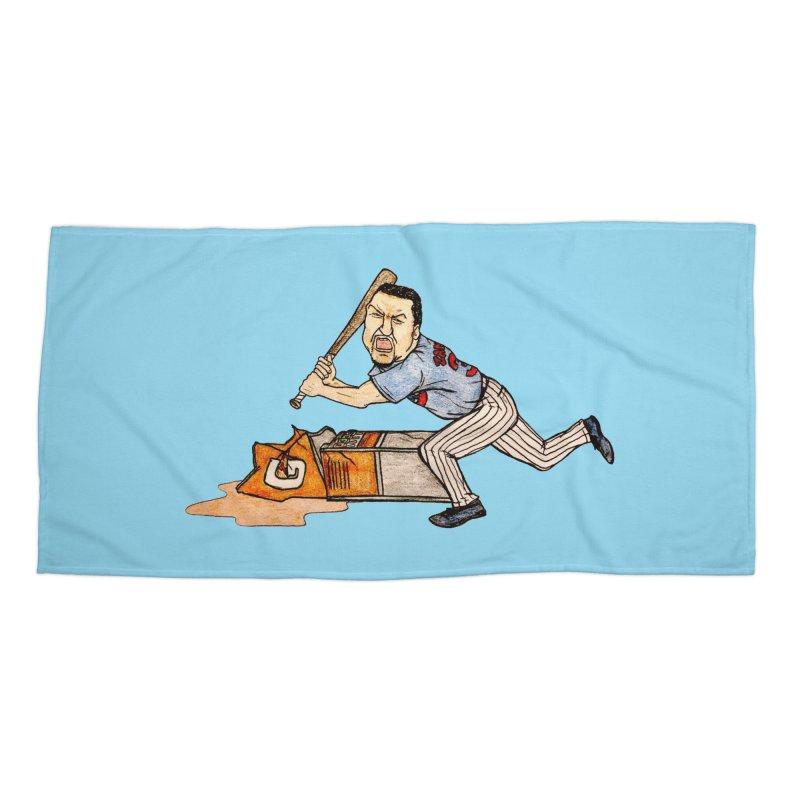 Carlos Zambrano vs Gatorade, 2009 Accessories Beach Towel by The Gummy Arts Shop