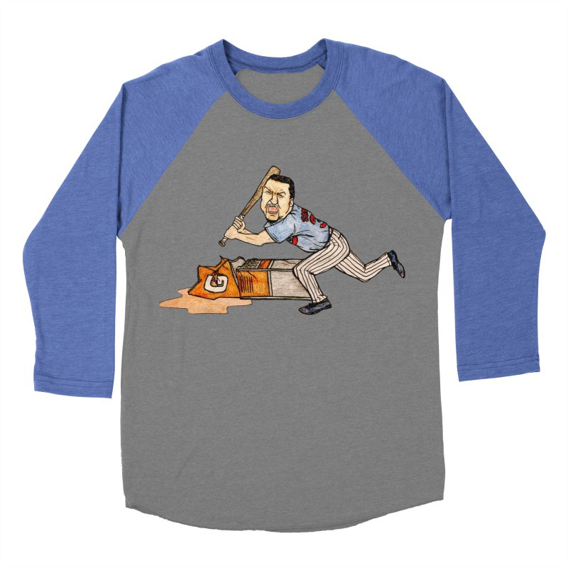 Carlos Zambrano vs Gatorade, 2009 Men's Baseball Triblend T-Shirt by The Gummy Arts Shop