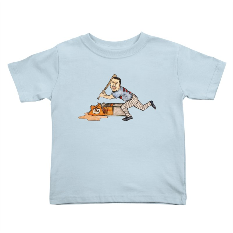 Carlos Zambrano vs Gatorade, 2009 Kids Toddler T-Shirt by The Gummy Arts Shop