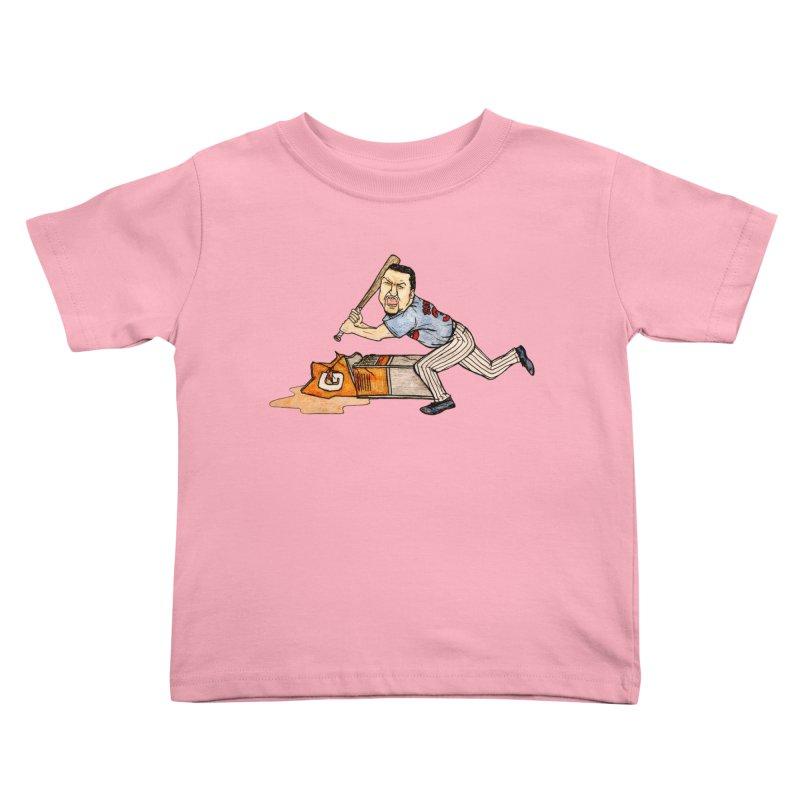 Carlos Zambrano vs Gatorade, 2009 Kids Toddler T-Shirt by The Gummy Arts Shop
