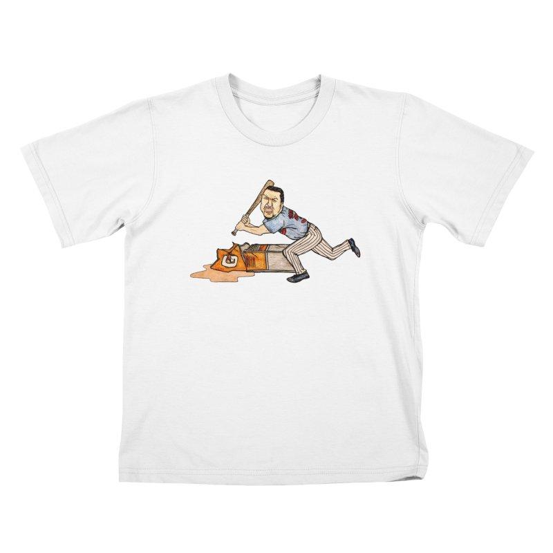 Carlos Zambrano vs Gatorade, 2009 Kids T-Shirt by The Gummy Arts Shop