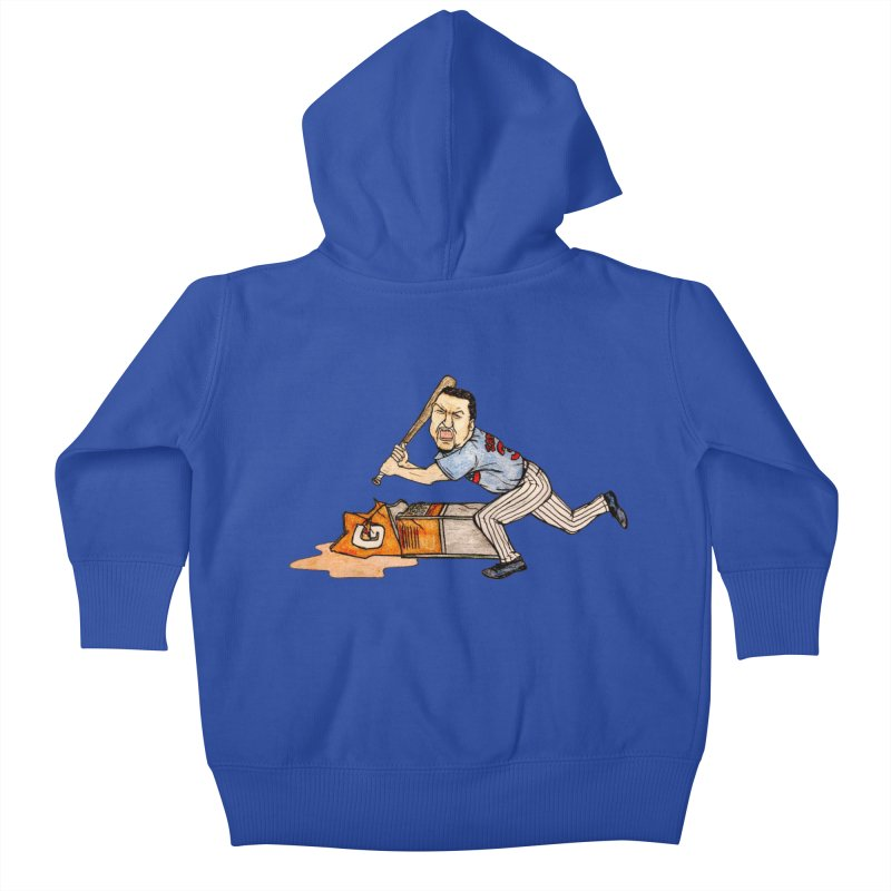Carlos Zambrano vs Gatorade, 2009 Kids Baby Zip-Up Hoody by The Gummy Arts Shop