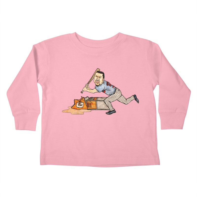 Carlos Zambrano vs Gatorade, 2009 Kids Toddler Longsleeve T-Shirt by The Gummy Arts Shop