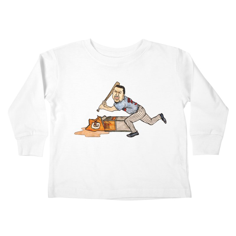 Carlos Zambrano vs Gatorade, 2009 Kids Toddler Longsleeve T-Shirt by The Gummy Arts Shop