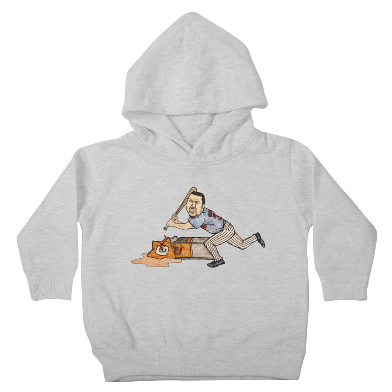Carlos Zambrano vs Gatorade, 2009 Kids Toddler Pullover Hoody by The Gummy Arts Shop