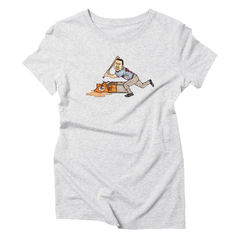 Carlos Zambrano vs Gatorade, 2009 Women's Triblend T-Shirt by The Gummy Arts Shop