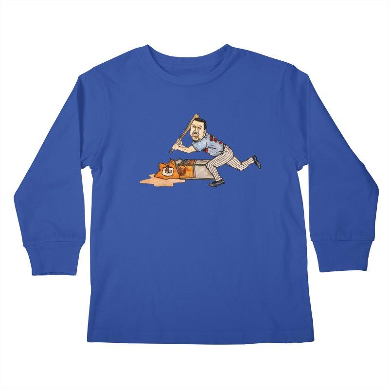 Carlos Zambrano vs Gatorade, 2009 Kids Longsleeve T-Shirt by The Gummy Arts Shop