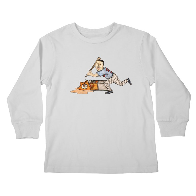 Carlos Zambrano vs Gatorade, 2009 Kids Longsleeve T-Shirt by The Gummy Arts Shop