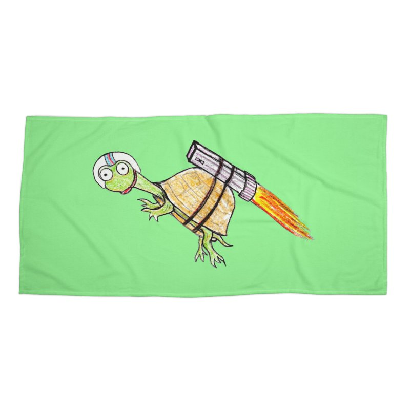 Joshman Accessories Beach Towel by The Gummy Arts Shop