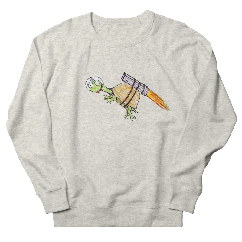 Joshman Women's French Terry Sweatshirt by The Gummy Arts Shop