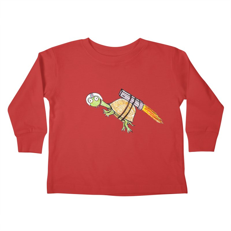 Joshman Kids Toddler Longsleeve T-Shirt by The Gummy Arts Shop