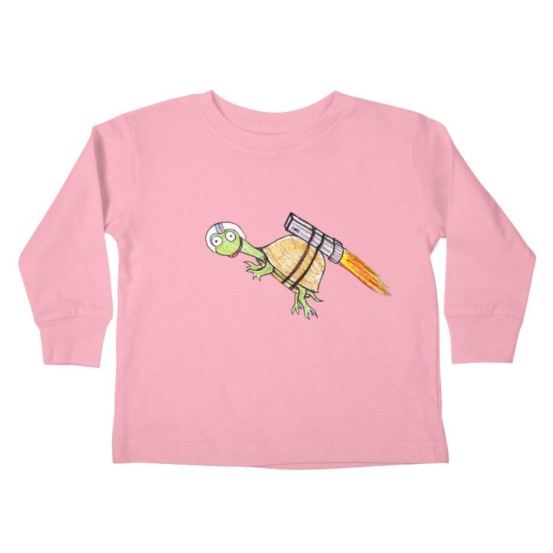 Joshman Kids Toddler Longsleeve T-Shirt by The Gummy Arts Shop