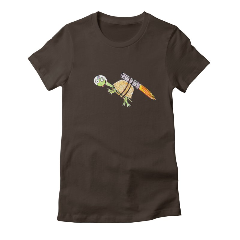Joshman Women's Fitted T-Shirt by The Gummy Arts Shop