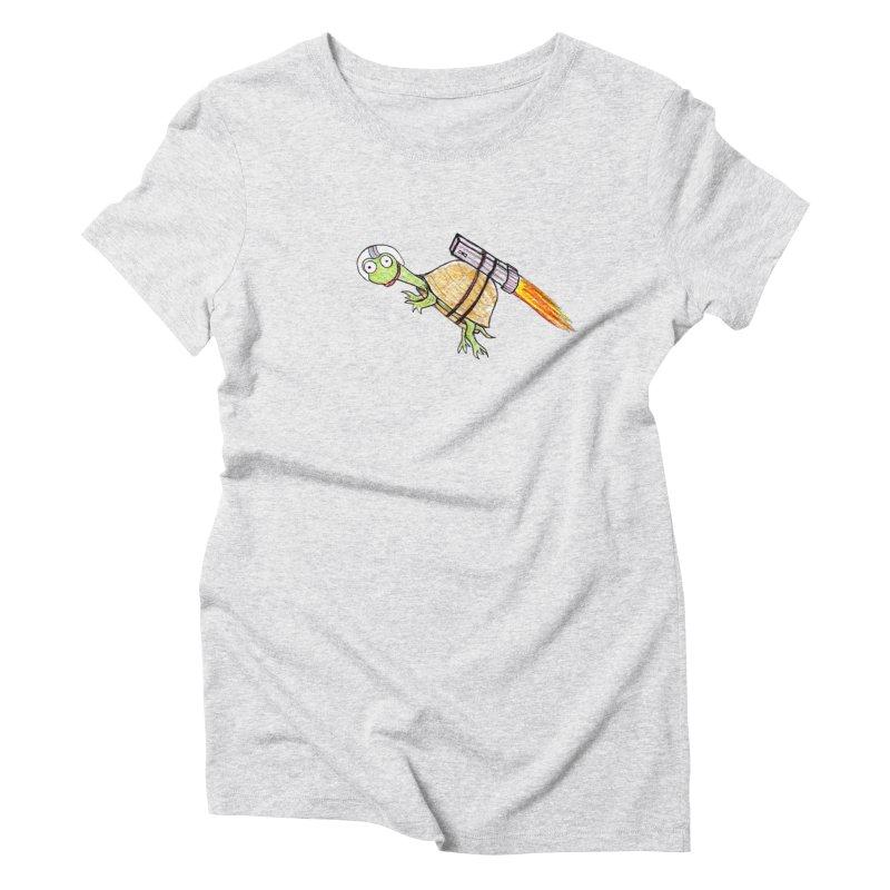 Joshman Women's Triblend T-Shirt by The Gummy Arts Shop