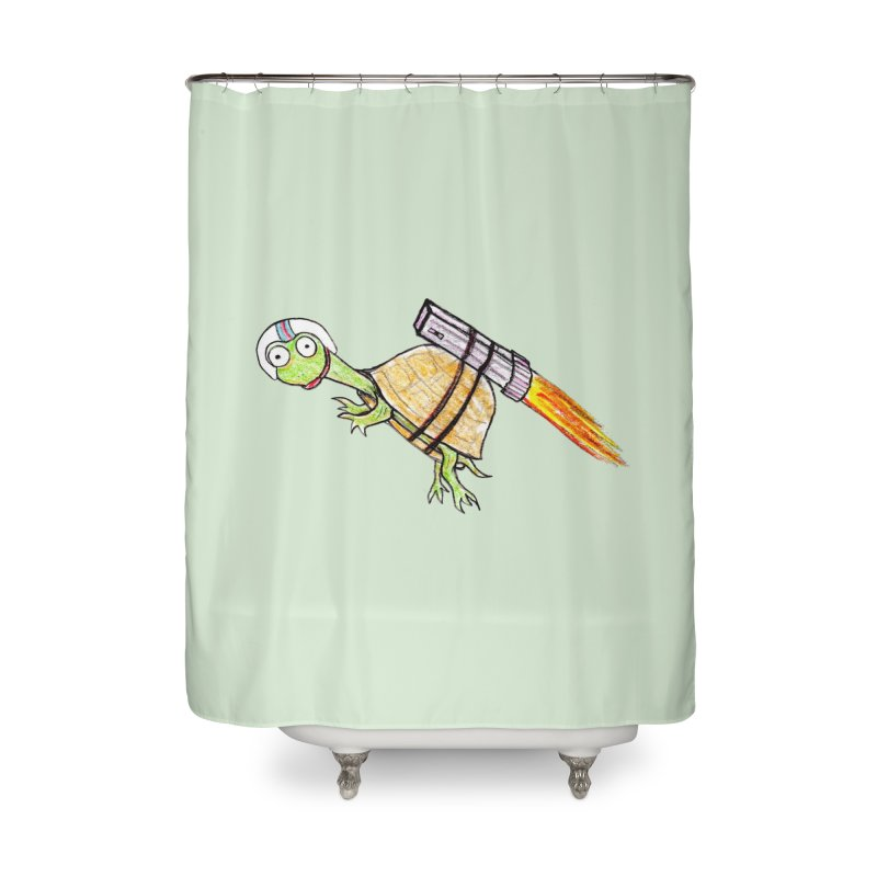 Joshman Home Shower Curtain by The Gummy Arts Shop