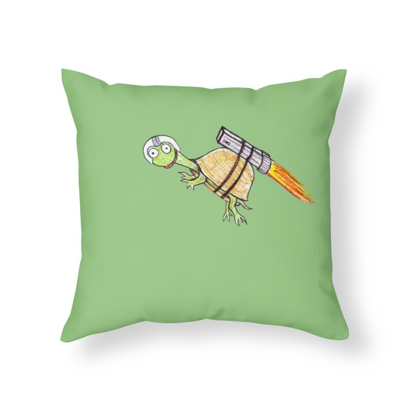 Joshman Home Throw Pillow by The Gummy Arts Shop