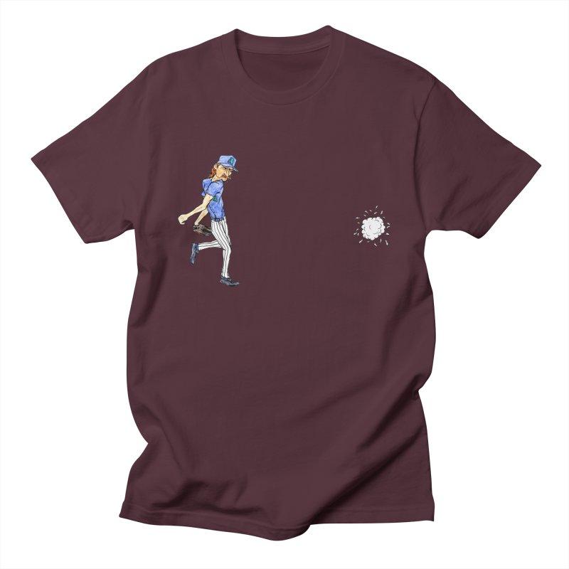 Randy Johnson vs Bird, 2001 Men's T-Shirt by The Gummy Arts Shop